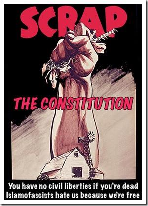 Scrap the Constitution