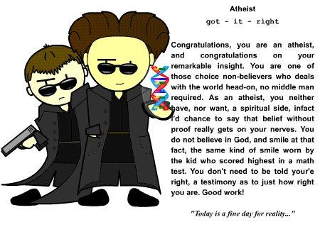 I'm an Atheist